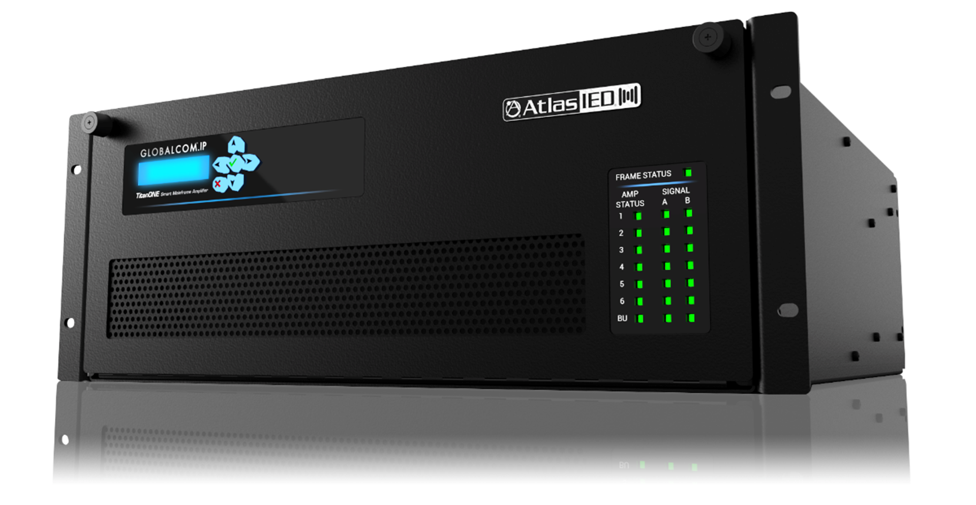 AtlasIED's NEW TitanONE Smart Mainframe Amplifier System