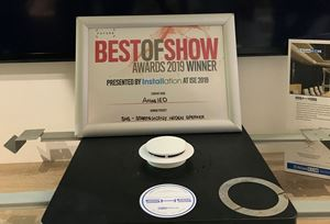 SHS is Best of Show at ISE 2019