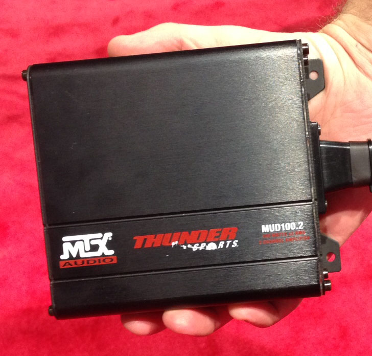 MUD100.2 Amplifier